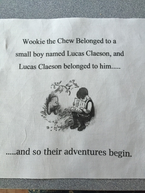 wookie the chew quilt 2