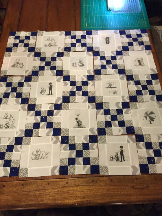 wookie the chew quilt